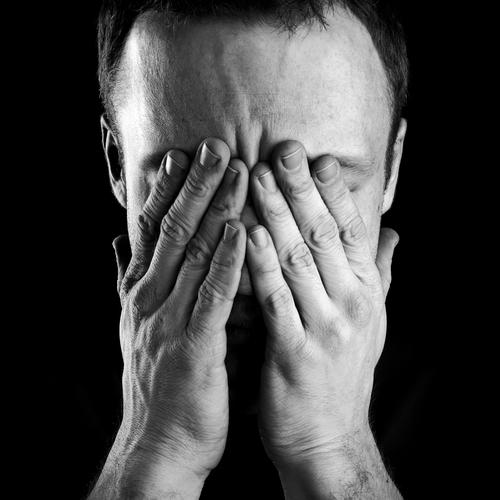 В печали и депрессии