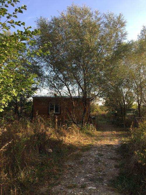 Небольшой домик в экопоселении